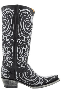 Old Gringo Women's Black Madonna Boots - Side