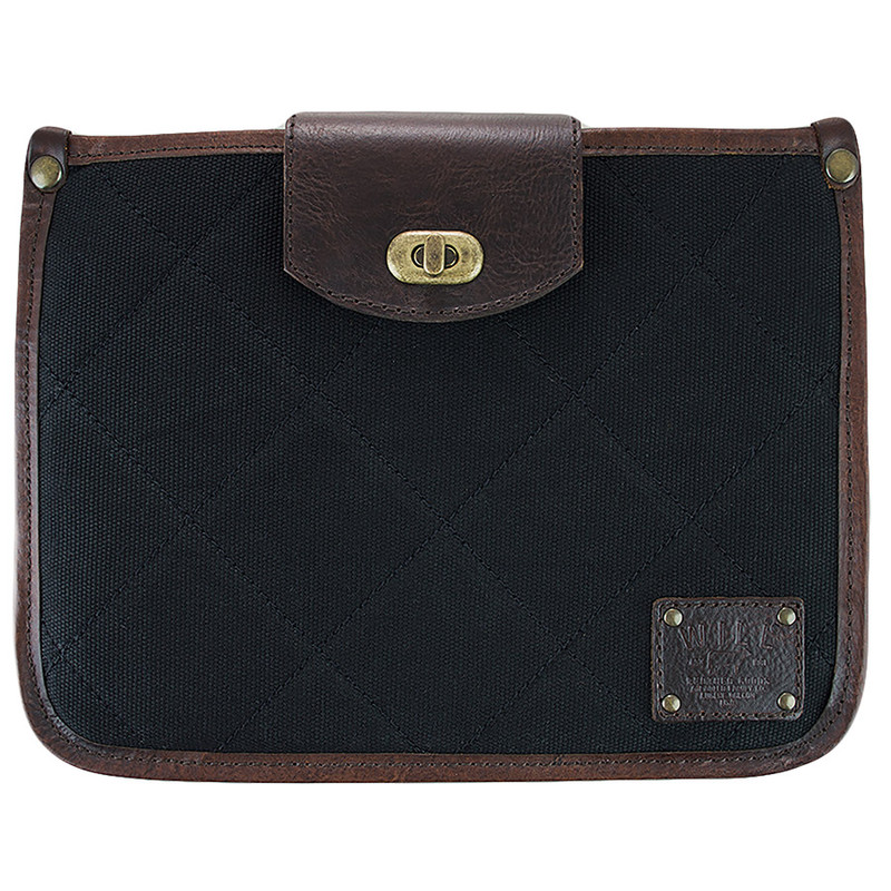 Office - Will Leather Goods Turnlock Tablet Sleeve - Front
