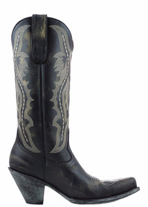 "Old Gringo Women's Biege Rustik Rio 13"" Boots - Side"