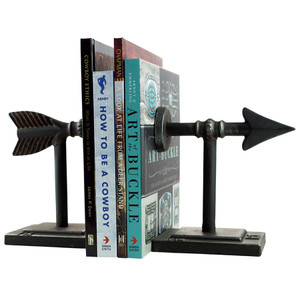 Decor - Metal Arrow Bookends