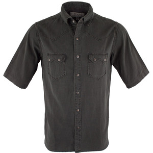 Ryan Michael Short Sleeve Birdseye Dobby - Graphite