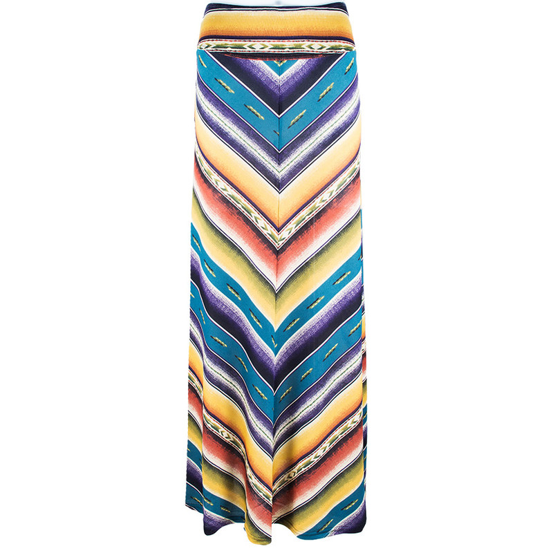 Double D Ranch Sausalito Serape Maxi Skirt - Front