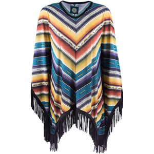 Double D Ranch Sausalito Serape Poncho - Front