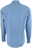 James Campbell Fitz Water Blue Dobby Snap Shirt - Back