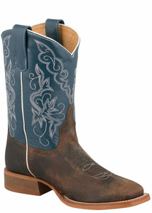 Anderson Bean Kids Distressed Bison Boots