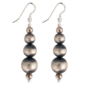 SILVER TRES EARRINGS- HERO