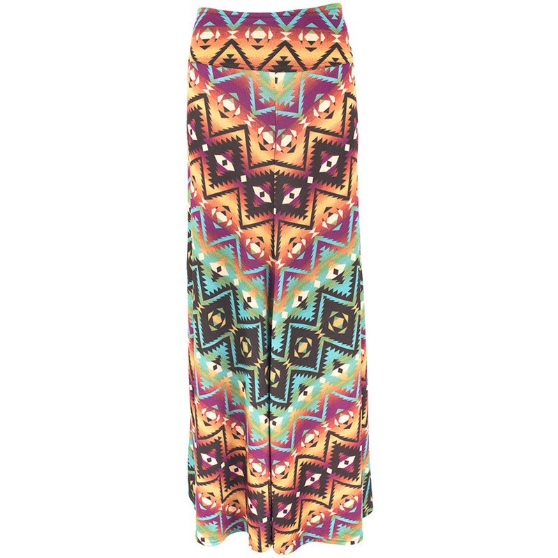 Double D Ranch Chicora Blanket Maxi Skirt - Front