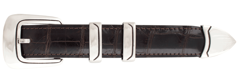 "Chacon Caliente Smooth 1"" Buckle Set"