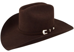 Stetson 3X Oakridge Felt Hat - Chocolate