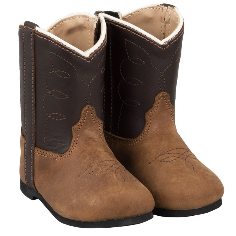Infant - Pocono Western Chocolate Infant Boots