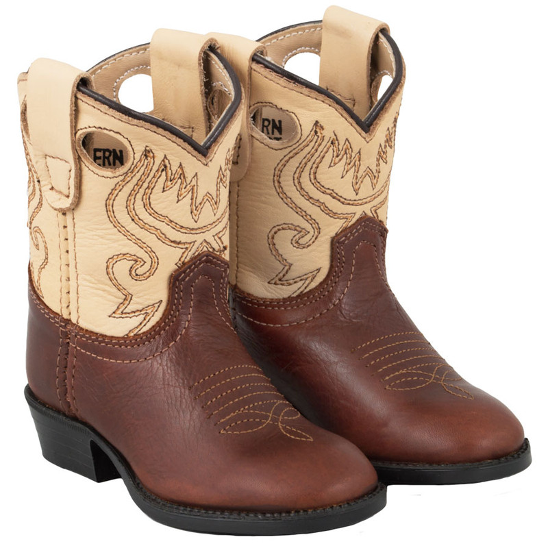 Toddler - Pocono Western Dark Brown Buckaroo Boots