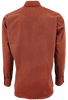 Lyle Lovett for Hamilton Orange Solid Corduroy Shirt - Back