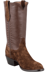 Stallion Men's Chocolate Hippo Boots - Hero