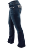 Miss Me Signature Faux Flap Pocket Bootcut Jeans - Side