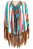 Grand Canyon Shawl - Zuni Blue - Front
