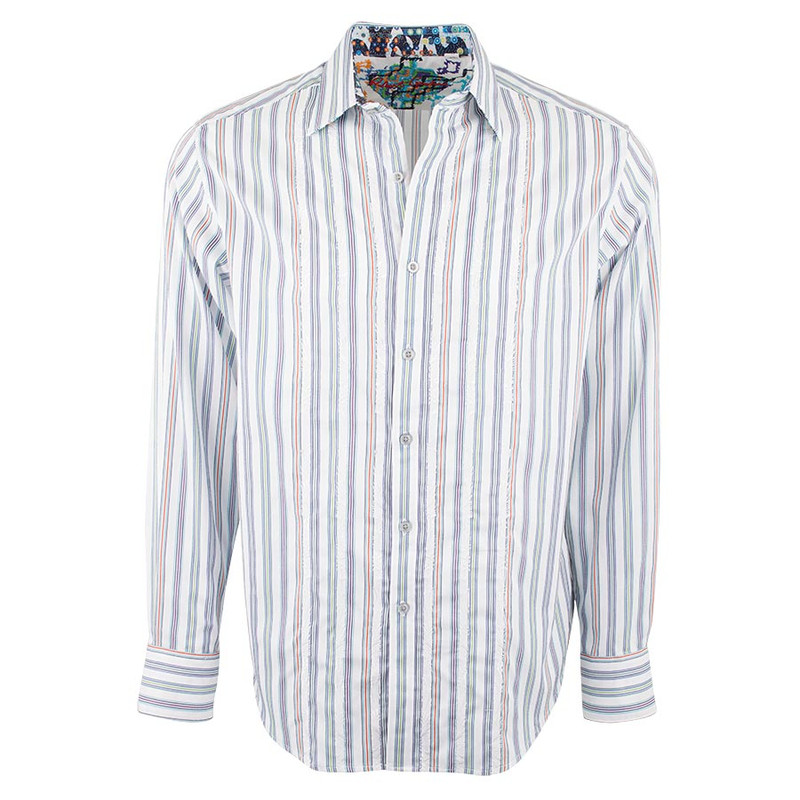 Robert Graham Barrow Stripe Shirt - Front