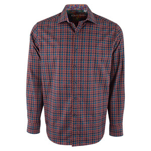 Robert Graham Red Trotter Check Shirt - Front