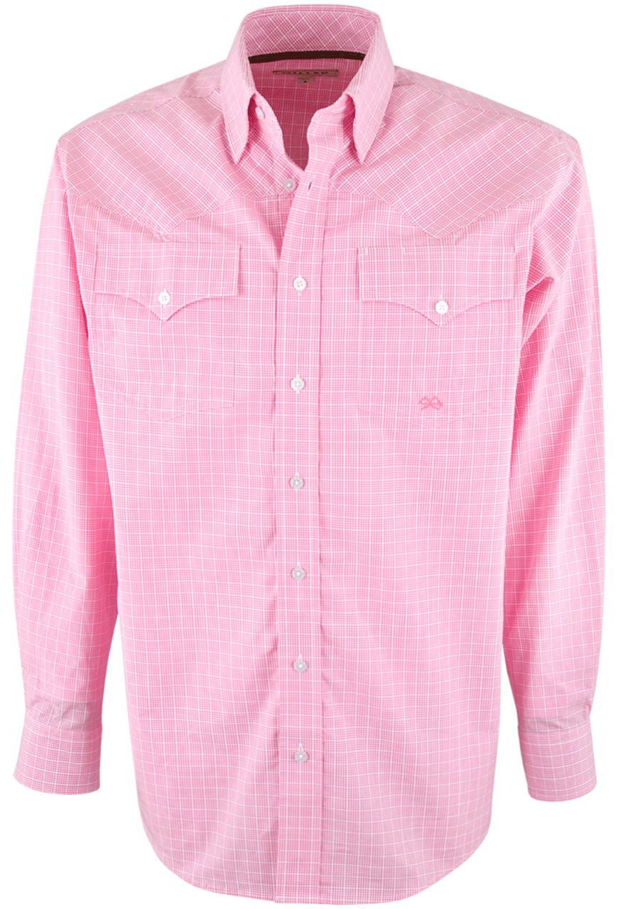 Miller Ranch Pink Check Shirt - Pinto Ranch