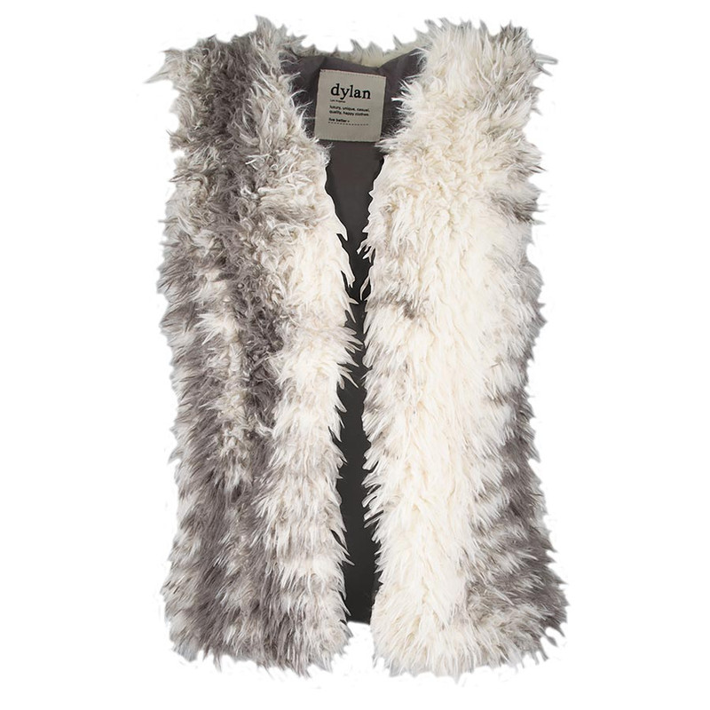 Dylan Fuzzy Vest - Front
