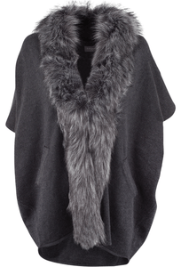Bagatelle Faux Fur Collar Sweater - Front