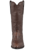 Stallion Men's Antique Brown American Alligator Boots - Front