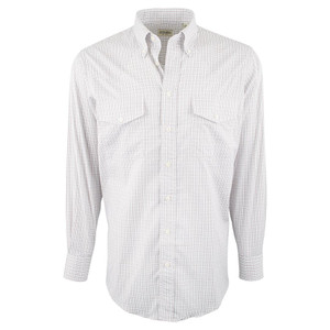 Gitman Bros. Khaki Check Shirt - Front