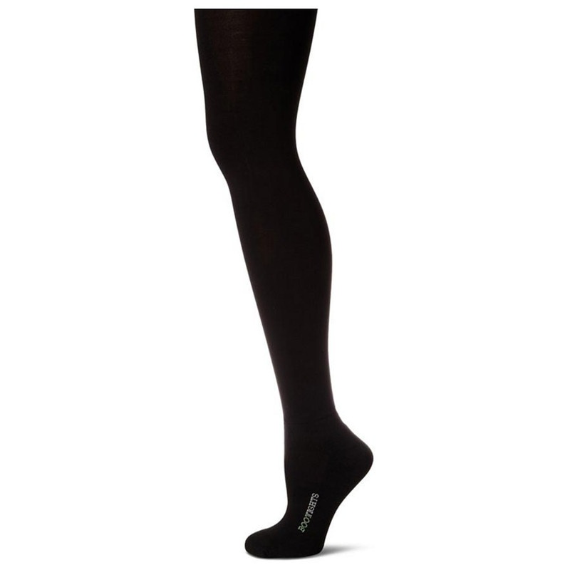 Bootights Core Essentials Semi-Opaque Tights - Black - Side