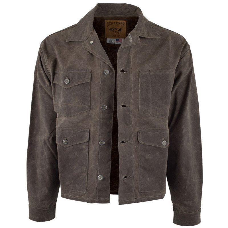 Schaefer Outfitters RangeWax Mesquite Jacket - Front