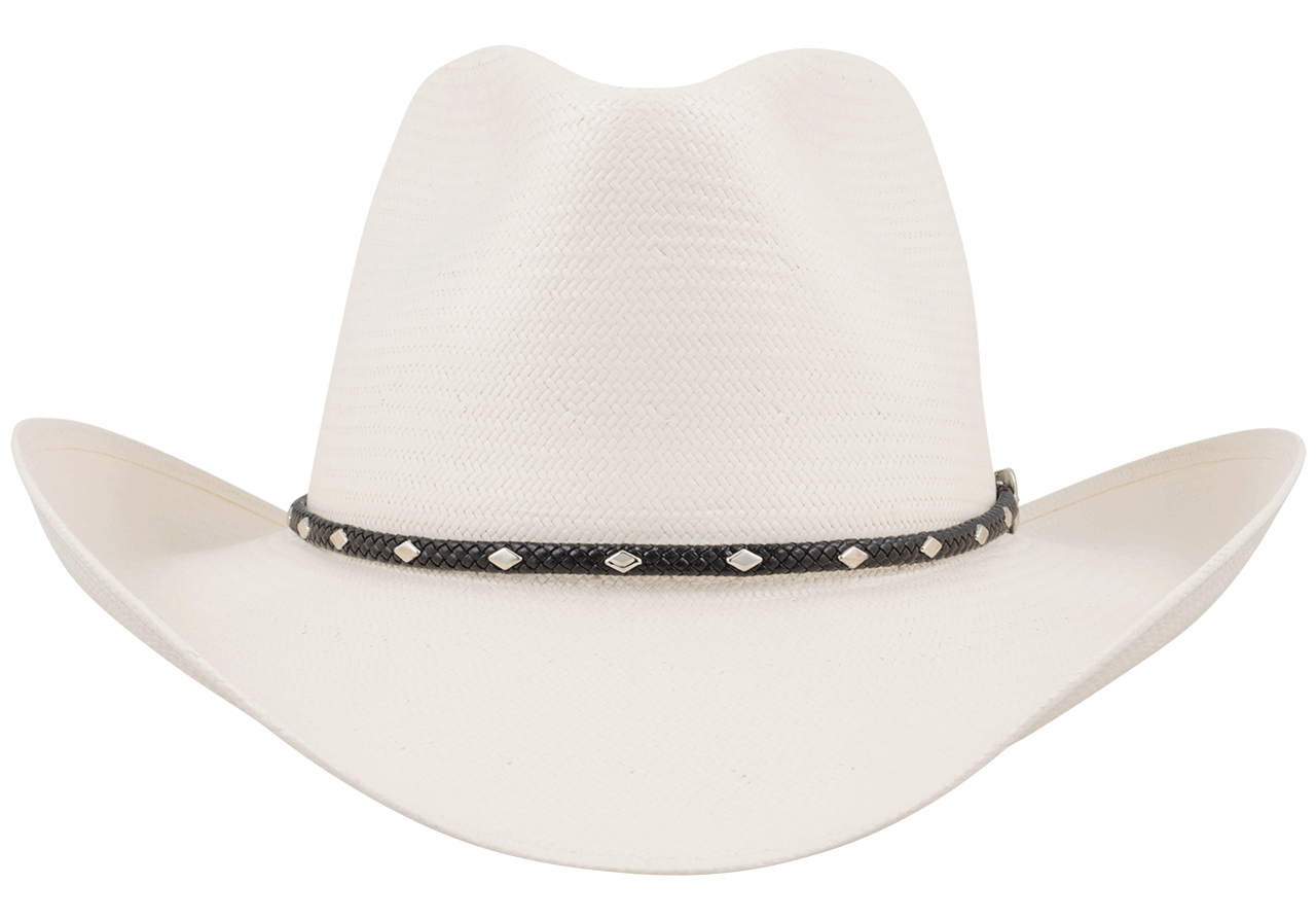 Stetson 8x Diamond Jim Straw Hat Pinto Ranch