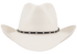 Stetson 8X Diamond Jim Straw Hat - Front