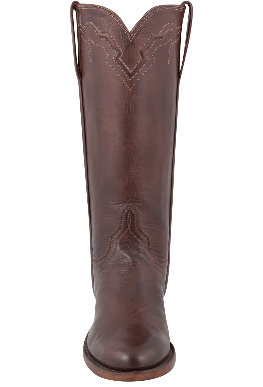 Lucchese Women S Whiskey Baby Buffalo Roper Boots Pinto
