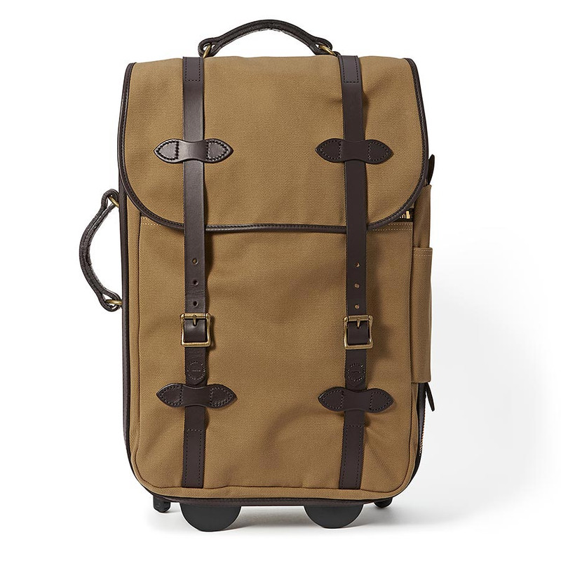Filson Medium Rolling Carry-On Bag - Tan - Front