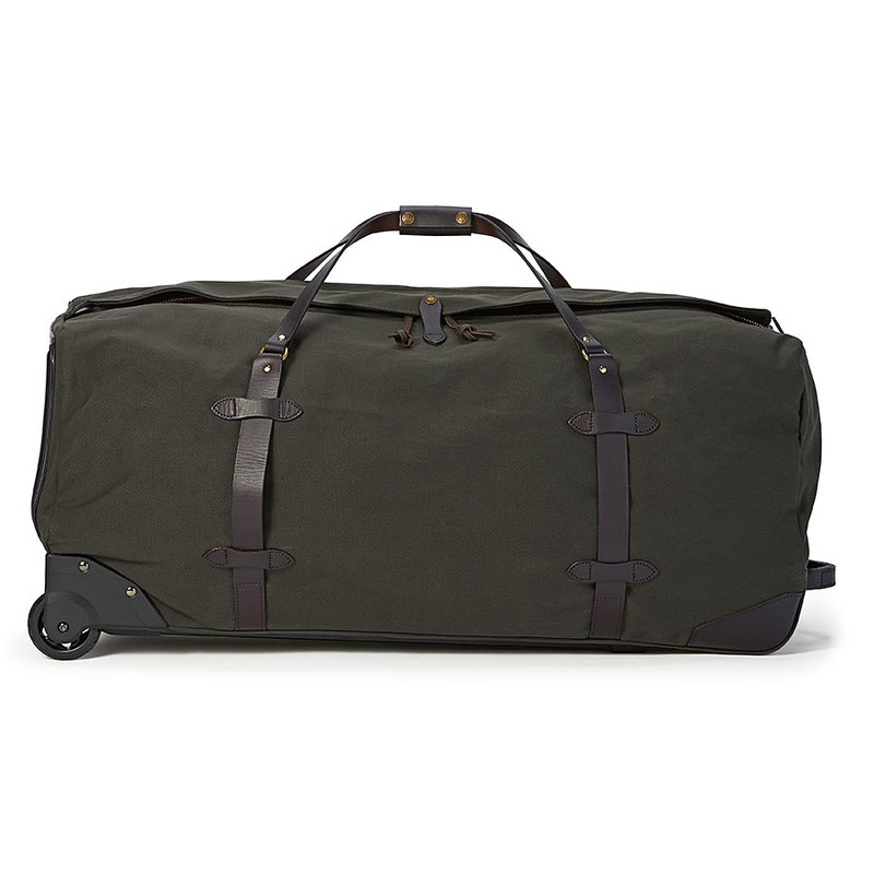 Filson Extra Large Rolling Duffle - Otter Green - Side