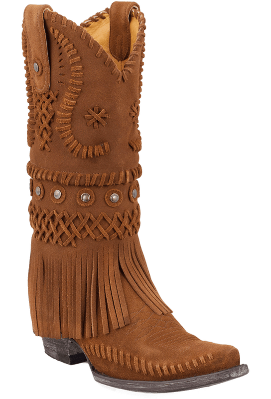 Old Gringo Women's Rust Chucha Fringe Boots - Pinto Ranch