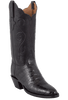Lucchese Women's Black Ultra Caiman Crocodile Boots - Hero