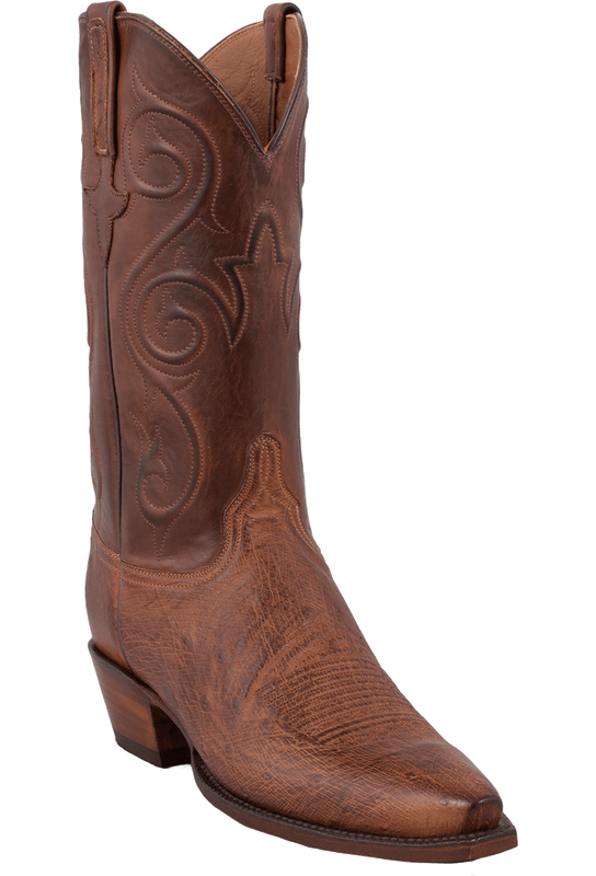 Lucchese Women's Barnwood Smooth Ostrich Boots - Hero