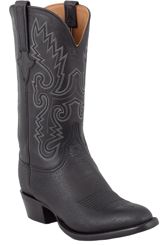 Lucchese Men's Black Shark Boots - Hero