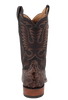 Rios of Mercedes Men's Cigar Pirarucu Boots with Milan Toe - Back