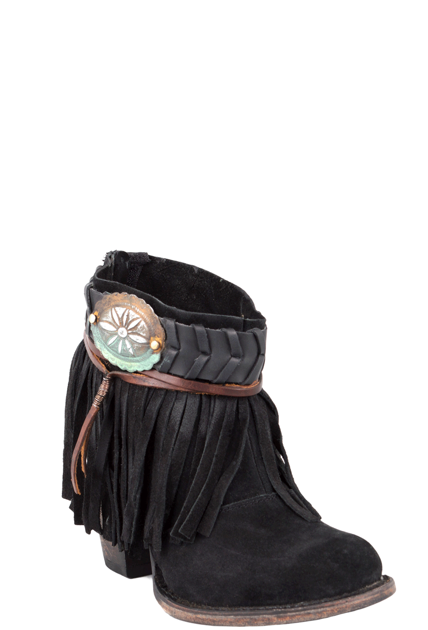 Freebird By Steven Black Chief Fringe Boots Pinto Ranch