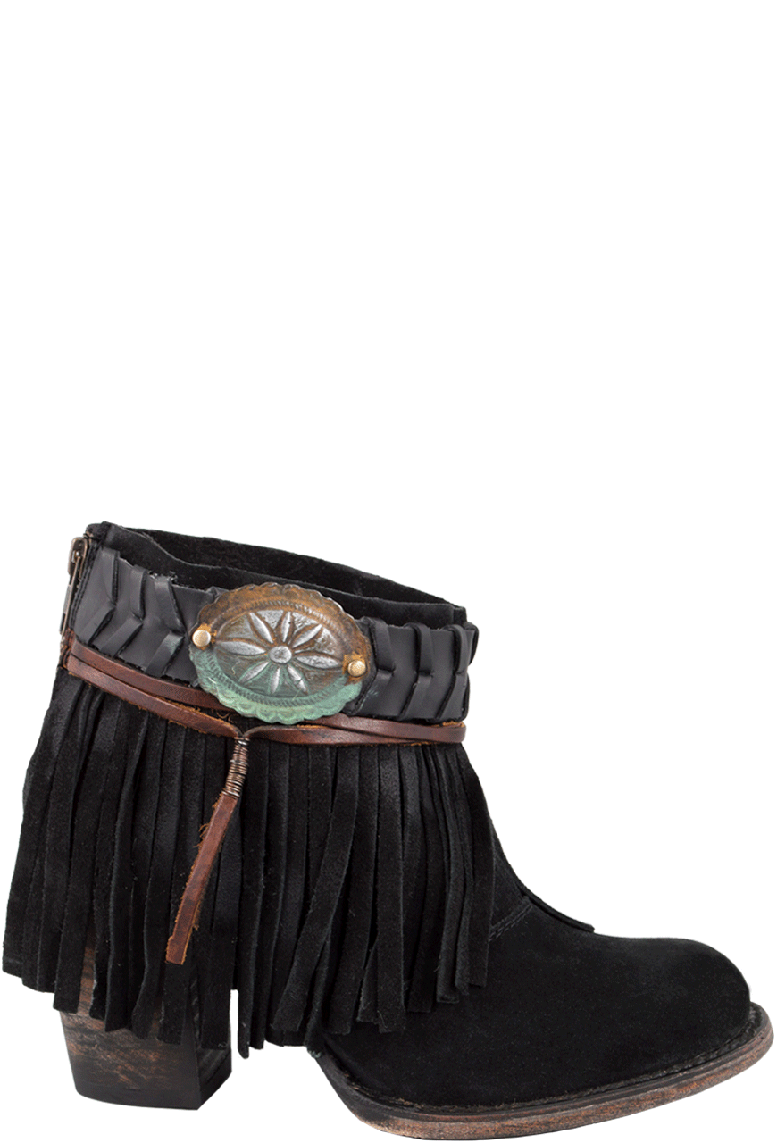 Freebird by Steven Black Chief Fringe Boots - Pinto Ranch