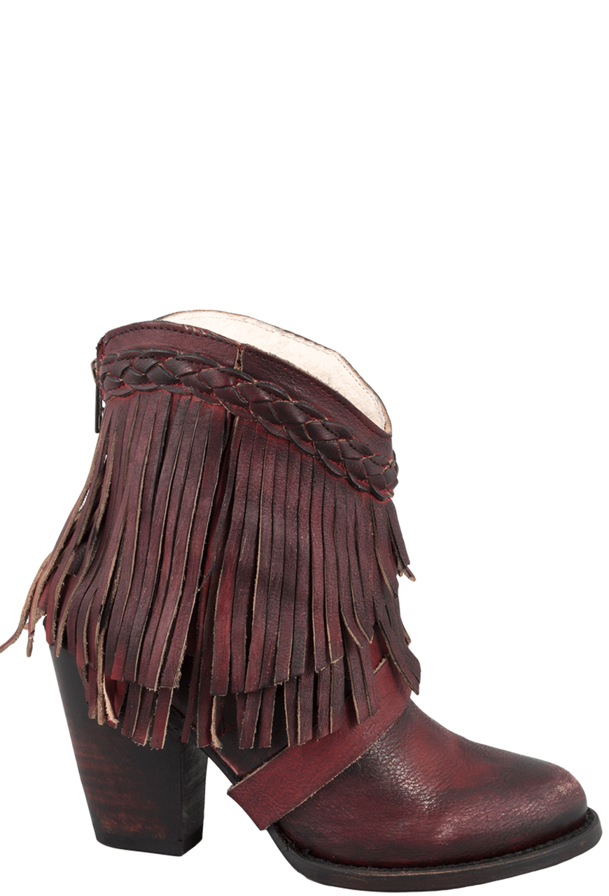 Freebird by Steven Wine Tonto Fringe Boots - Pinto Ranch