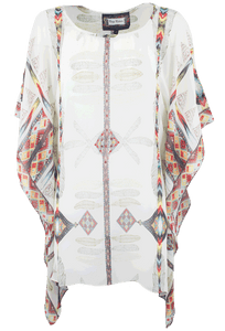 Vintage Collection Angel Wing Poncho - Front
