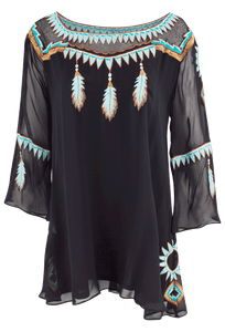 Vintage Collection Dream Catcher Tunic - Front
