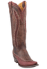 Old Gringo Women's Brass/Red Ojai Vesuvio Boots - Hero