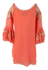 Vintage Collection Amber Cold Shoulder Tunic - Back