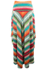 Double D Ranch Pachamama Serape Long Skirt - Back