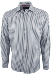 David Smith Australia Splash Palm Shirt - Front