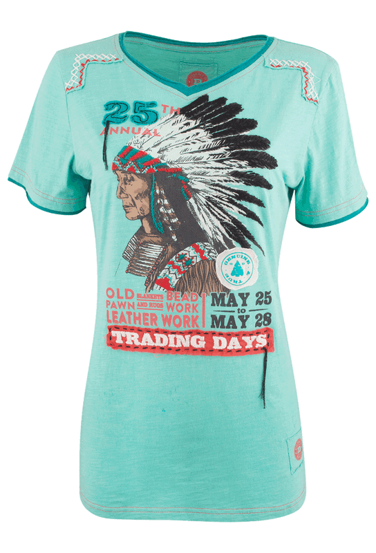 Double D Ranch Trading Days Tee - Front