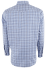 Gitman Bros. Blue and Black Multi-Check Western Shirt - Back
