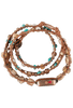 WTW Designs Jasper and Turquoise Wrap Watch - Top